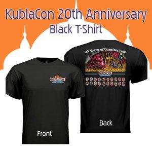 KC 20 Anniversary TShirt Black
