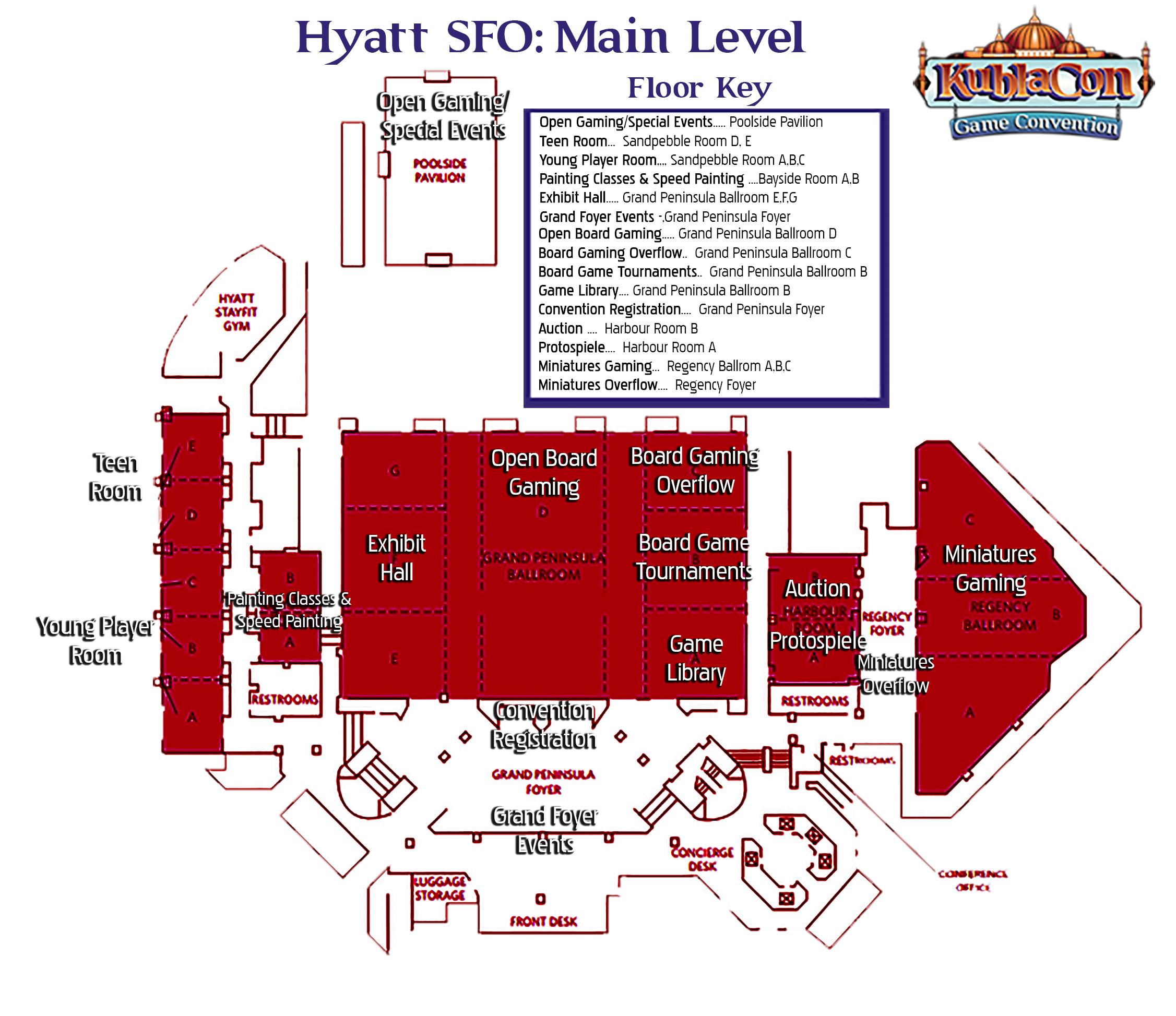 Hyatt SFO MainLevel