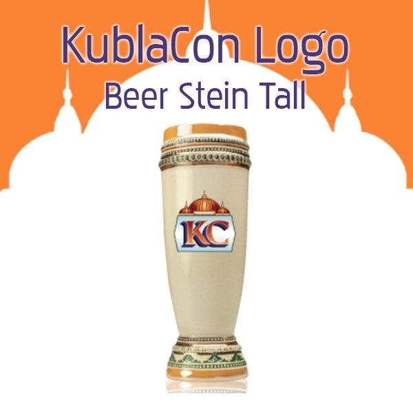KublaCon Beer Stein Tall