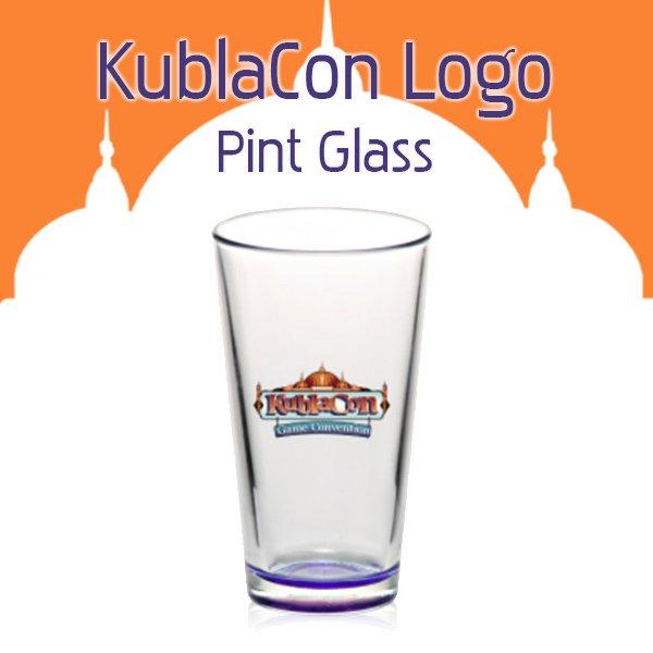 KublaCon Pint Glass
