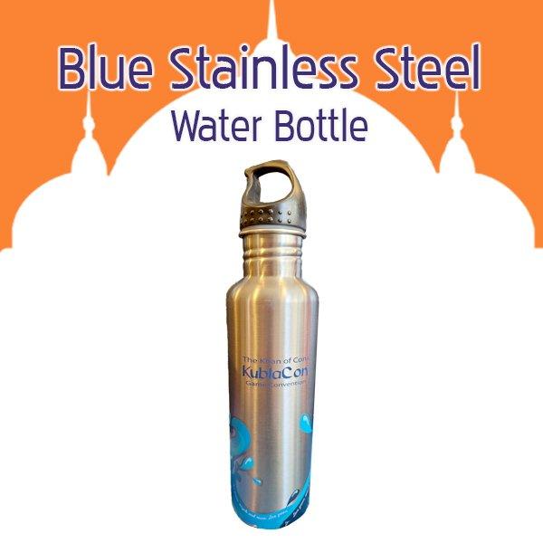 Blue Stainless Steel Water Bottle
